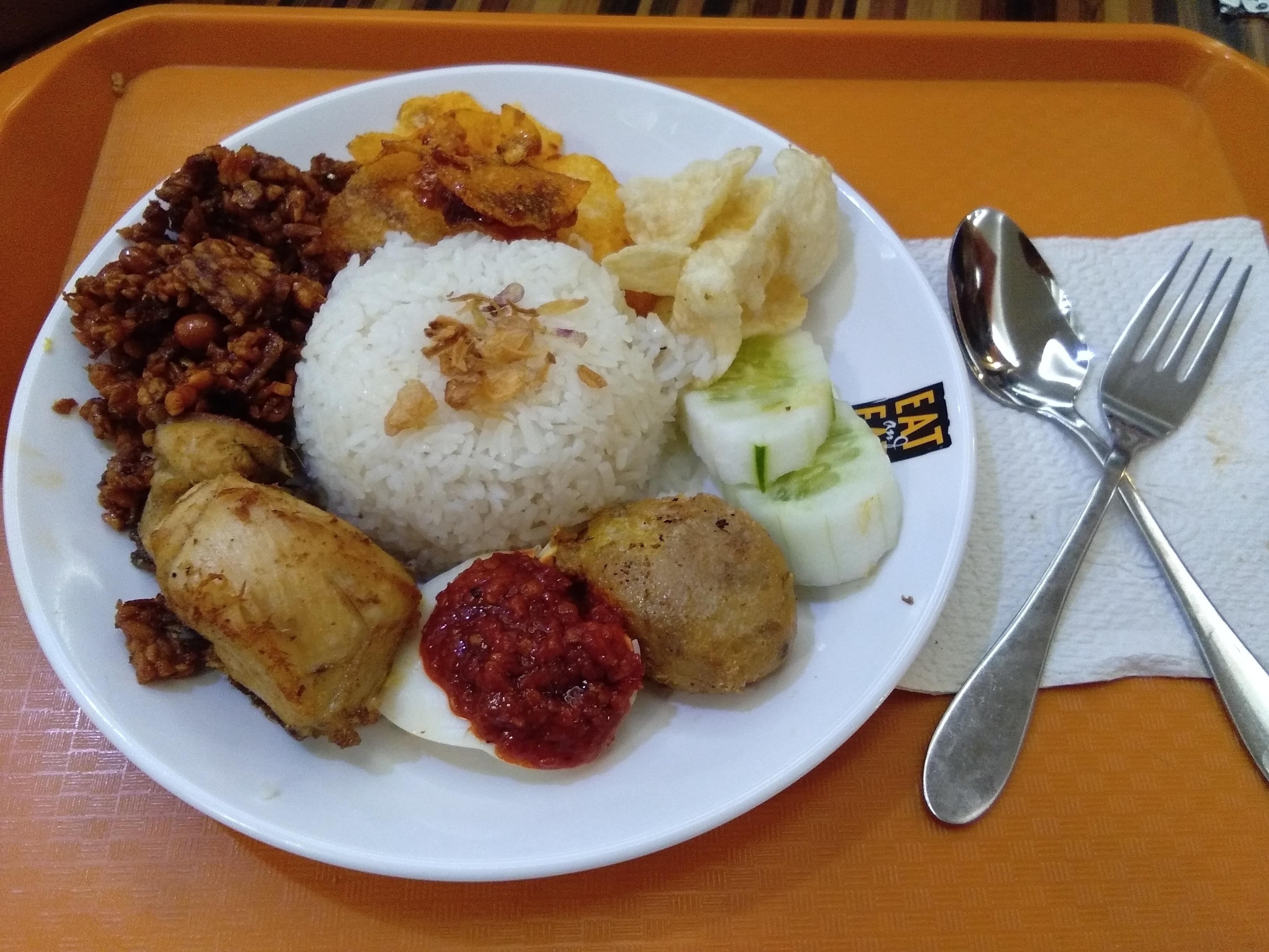 Nasi Lemak Medan Bang Salim