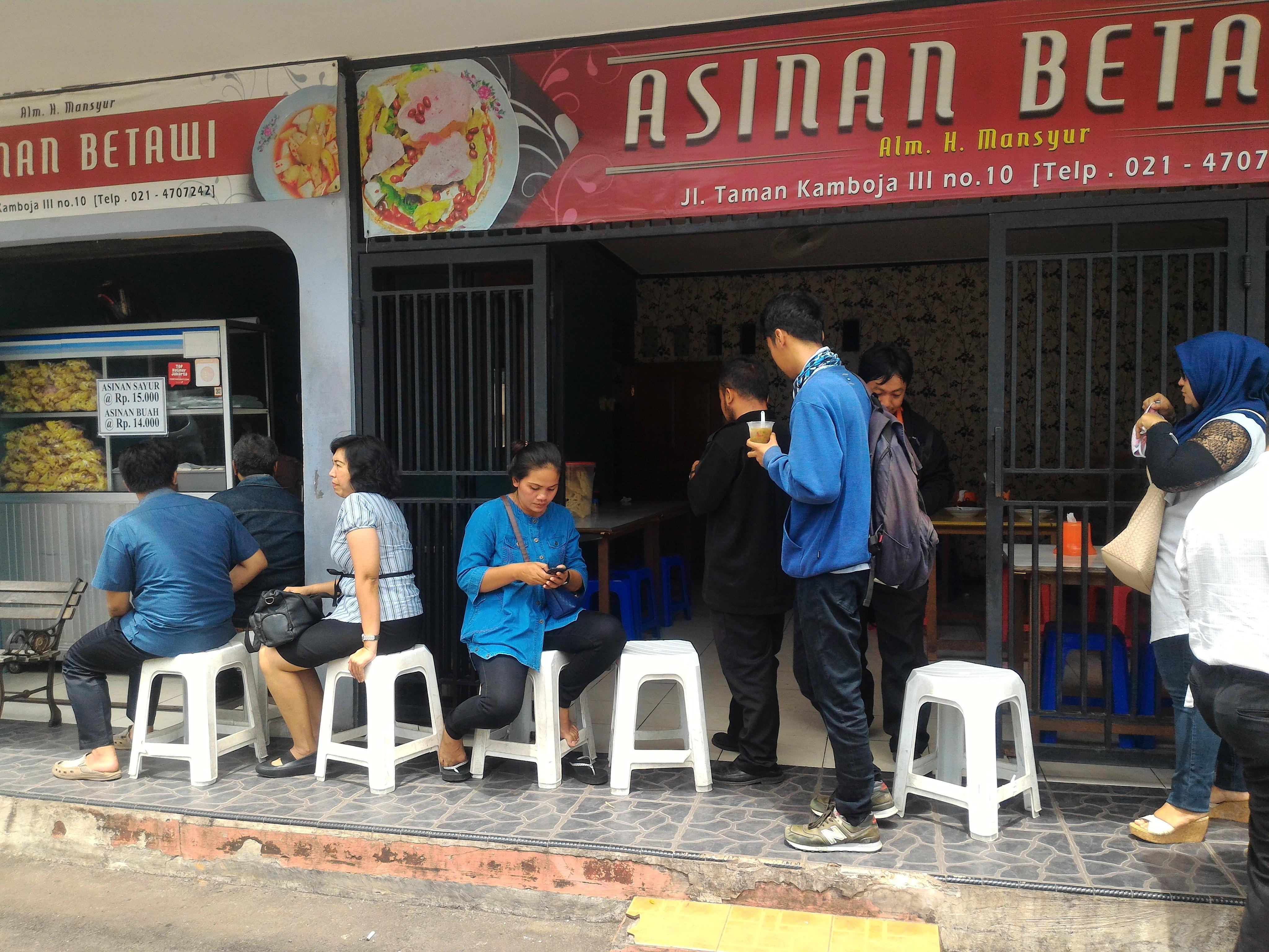 Asinan Betawi H. Mansyur / Asinan Kamboja Rawamangun